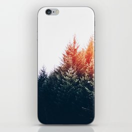 Waking up in a forest iPhone Skin