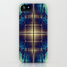 Fractal Abstract 22 iPhone Case