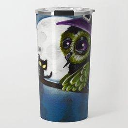 owl witch Travel Mug