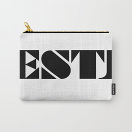 Type Type for ESTJ Carry-All Pouch