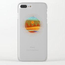 Textures/Abstract 143 o.c. Clear iPhone Case