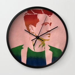 Brendon Urie Multicolor Print Wall Clock