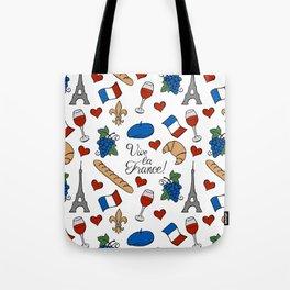 Vive la France! Tote Bag