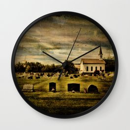 Grahamsville Reformed Church and Cemetery Wall Clock