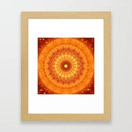 Mandala Divine Power Framed Art Print