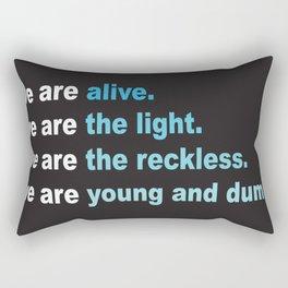 We Are Rectangular Pillow