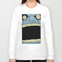 mouth Long Sleeve T-shirts featuring Mouth by Hobo&Arrow