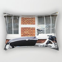 Amsterdam streets - Freight bicycles Rectangular Pillow