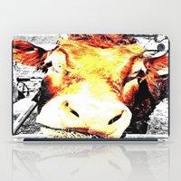 bull iPad Cases featuring Bull by TexasDesignsByAmy