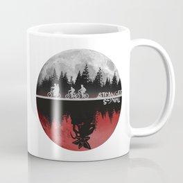 Stranger thing Moon And The Upside Down Coffee Mug