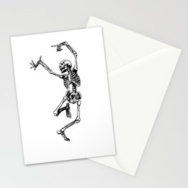 DANCING SKULL Stationery Cards