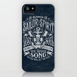 Sailor Spirit iPhone Case