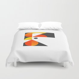 Cubist Rooster Duvet Cover