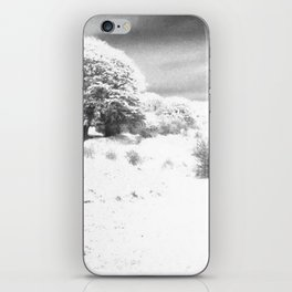 Haresfield In The Snow iPhone Skin