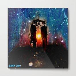 Above the Horizon (Remixed) Metal Print