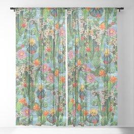 Cactus Desert - BBG Sheer Curtain