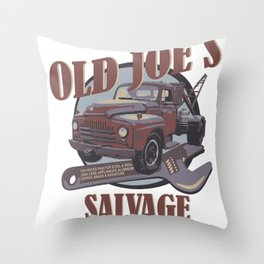 Breaking Bad Inspired - Old Joe's Salvage - Junk Yard - AMC Breaking Bad Throw Pillow