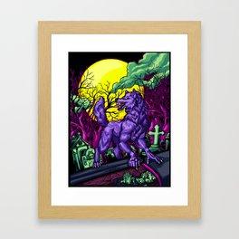 Grave Digger Framed Art Print