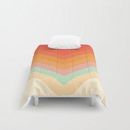 Rainbow Chevrons Comforters