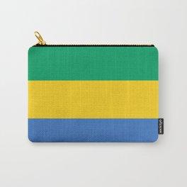 Flag: Gabon Carry-All Pouch