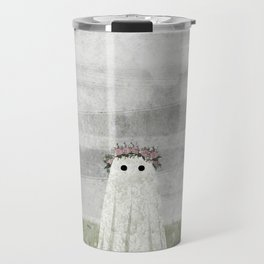 There's A Ghost in the Summer Meadow Travel Mug