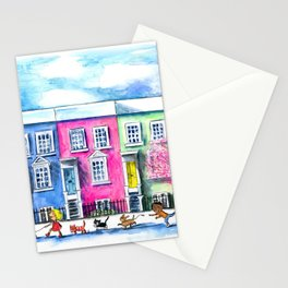 Springtime in Notting Hill Stationery Cards