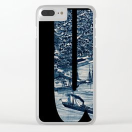 Key West 1884 Clear iPhone Case