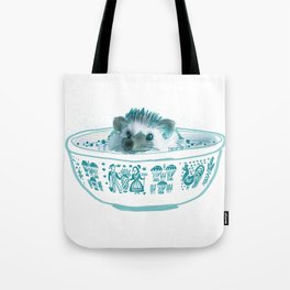 Hedgehog Hot Tub #2 Tote Bag