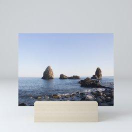 Sicilian Shore Mini Art Print