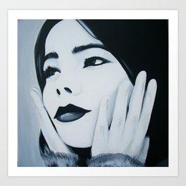 Bjork Muse Art Print