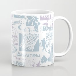 Grunge Basketball art Coffee Mug