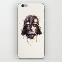 darth iPhone & iPod Skins featuring Darth Vader by beart24