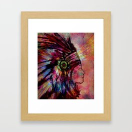 Medicine Woman Framed Art Print