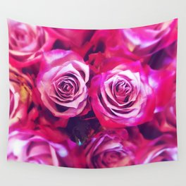 Love Roses! Wall Tapestry