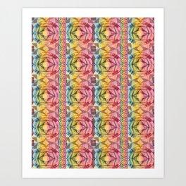 Ornament Tile Pattern No. 2 Art Print