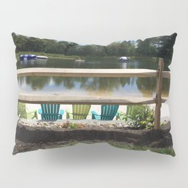 Sunny Lake Beach Pillow Sham