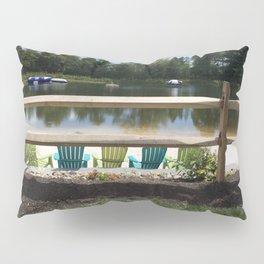 Sunny Lake Beach Pillow Sham