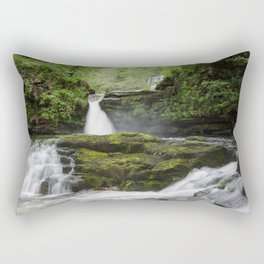 Four falls walk waterfall 5 Rectangular Pillow