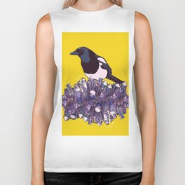 diamond hill magpie Biker Tank