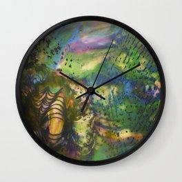 Depth of Color Wall Clock