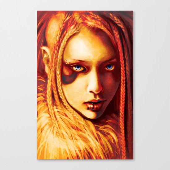 Kabuki Canvas Print