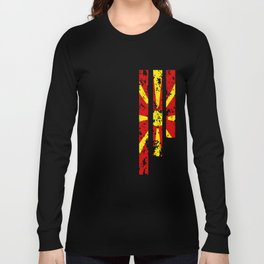 Proud Of Macedonia - MKD Long Sleeve T-shirt