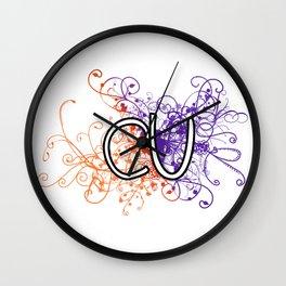 Clemson University Wall Clock