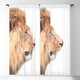 Lion Profile Blackout Curtain