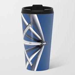 Sky and steel Travel Mug