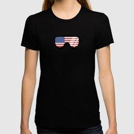 USA Goggles | Goggle Designs | DopeyArt T-shirt