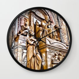 Patterns of Places - Vatican Wall Clock