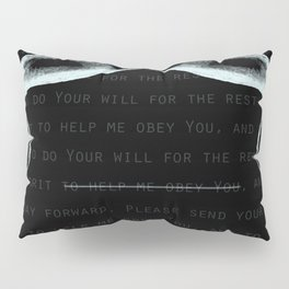 JOHN 3:16 - Sinner's Prayer (Alrealon Musique) Pillow Sham
