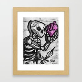 To love or not to love Framed Art Print