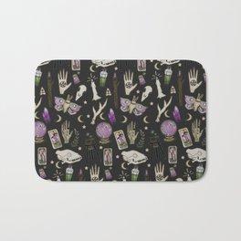 WITCH pattern • in black salt Bath Mat